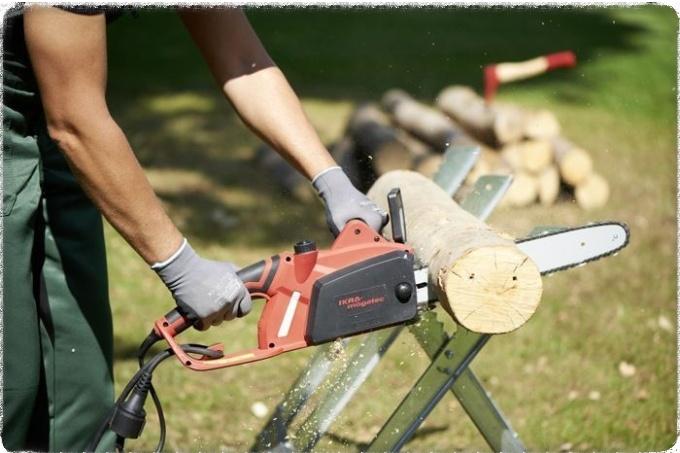 Как выбрать электропилу для дров