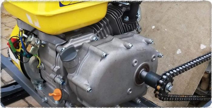 Двигатель для мотоблока с редуктором