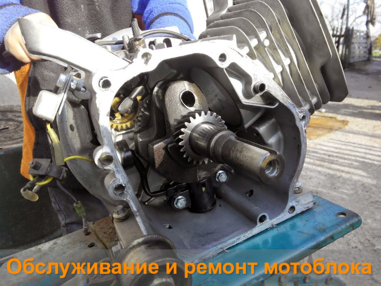 Обслуживание и ремонт мотоблока